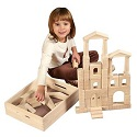 48 Piece Architectural Blocks with Carry Case by ECR4Kids