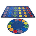 Click here for more Spot-On Seating Rug by ECR4Kids by Worthington