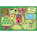 Click here for more Count the Farm Carpet by ECR4Kids by Worthington