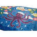 Olive the Octopus Carpet by ECR4Kids