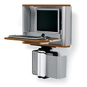 eNook Wall-Mount Workstation by Anthro
