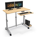 Click here for more Ergo E. Eazy Sit Stand Workstation by Balt by Worthington