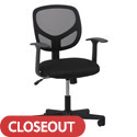 Click here for more Essentials Swivel Mesh Task Chair with Arms by Worthington