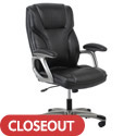 Click here for more Essentials Ergonomic High-Back Leather Executive Chair by OFM by Worthington