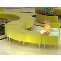 Evette Child Size Reception Seating by High Point