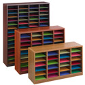Click here for more E-Z Stor Wood Literature Organizer by SAFCO by Worthington