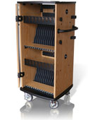 Click here for more EZU Series Universal Laptop and Tablet Charging Cart by CEF by Worthington