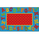 Click here for more Dancing Alphabet Carpet by Flagship Carpets by Worthington