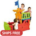 Click here for more Feber Pirate Ship by ECR4Kids by Worthington