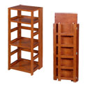 Flip Flop Square Folding Bookcases by Regency