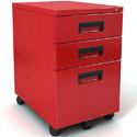 File-It Mobile Pedestal File Cabinet by Paragon
