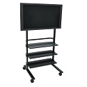 WFP100 Flat Panel TV Cart by H. Wilson