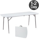 Fold-n-Half Folding Table by NPS
