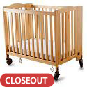 Click here for more Foldaway Portable Crib by Simmons by Worthington