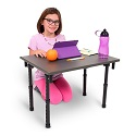 Click here for more Folding Student Desktop or Floor Desk by Luxor by Worthington