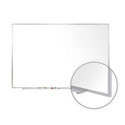 Traditional Porcelain Magnetic Whiteboard- Aluminum Frame by Ghent