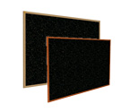 Click here for more Recycled Rubber Bulletin Boards w/ Wood Frame by Ghent by Worthington