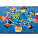 Give the Planet a Hug Rug by Carpets for Kids