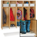 Click here for more Hanging Lockers w/ Tube Shoe Rack by Jonti-Craft by Worthington