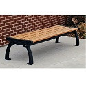 Heritage Backless Outdoor Benches by Frog Furnishings
