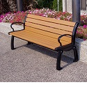 Heritage Outdoor Benches by Jayhawk Plastics