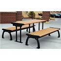 Click here for more Heritage Outdoor Picnic Tables by Frog Furnishings by Worthington