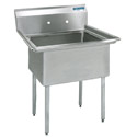 High Quality Stainless Steel Compartment Sinks by Diversified Woodcrafts