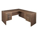 Click here for more Harmony L-Shape Desk by Regency by Worthington