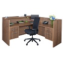 Click here for more Harmony Reception Desk by Regency by Worthington