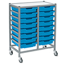 Dynamis Double Cart Sets by Gratnells