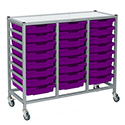 Dynamis Triple Cart Sets by Gratnells