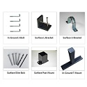 Click here for more Mounting Accessories by Jayhawk Plastics by Worthington