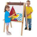 Double Adjustable Easel by Jonti-Craft