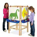 4 Way Adjustable Easel by Jonti-Craft