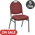 Click here for more 500 Series Premium Stack Chair by KFI by Worthington