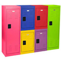 Click here for more Small Stackable Metal Lockers by Sandusky Lee by Worthington
