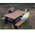 Click here for more Kids Outdoor Picnic Table by Frog Furnishings by Worthington