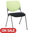 Kool Series Padded Stack Chair by KFI