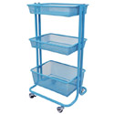 Wire Storage Cart by Luxor