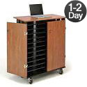 Laptop Charging & Storage Cart by Oklahoma Sound