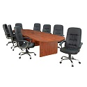Legacy Modular Racetrack Conference Tables by Regency