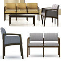Click here for more Lenox Panel Arm Series Reception Seating by Lesro by Worthington