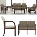 Weston Series Reception Seating by Lesro