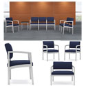 Lenox Steel Series Reception Seating by Lesro