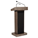Click here for more Orator Fixed Height Lectern by Oklahoma Sound by Worthington