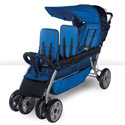 LX3 Three Passenger Stroller by Foundations