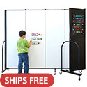 Click here for more Magnetic Whiteboard Tackable Divider by Screenflex by Worthington