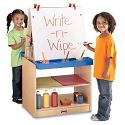 Click here for more MapleWave 2 Station Easel by Jonti-Craft by Worthington