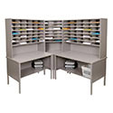 84 Slot Mailroom Sorter by Marvel