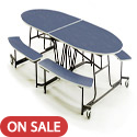 Click here for more Empire Mobile Bench School Cafeteria Table by Amtab by Worthington